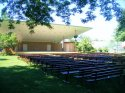 Outdoor Theater, Memorial Park in Wheaton, IL